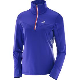 Salomon W's Trail Runner Warm Midlayer spectrum blue